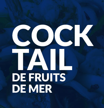 Cocktail de fruits de mer
